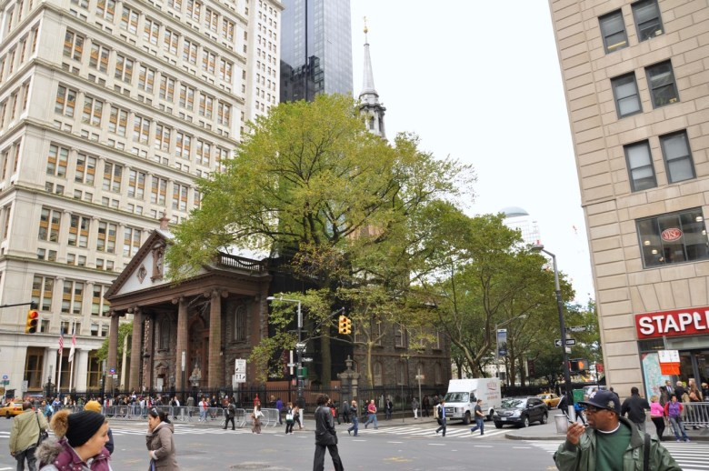 St Paul Church à New York