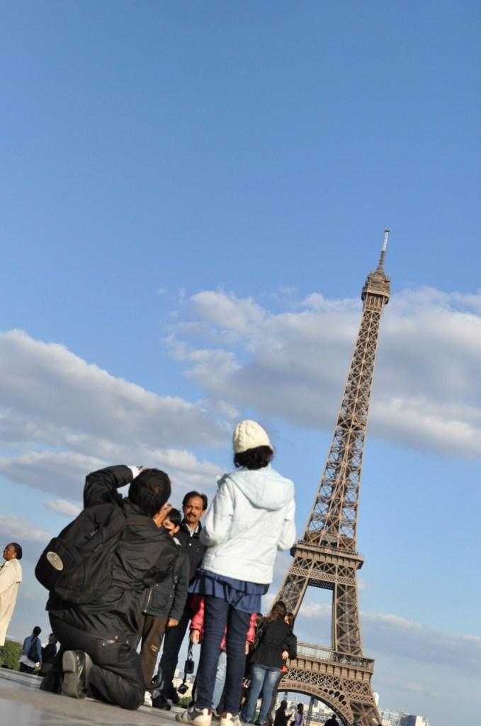 Tour Eiffel penchée