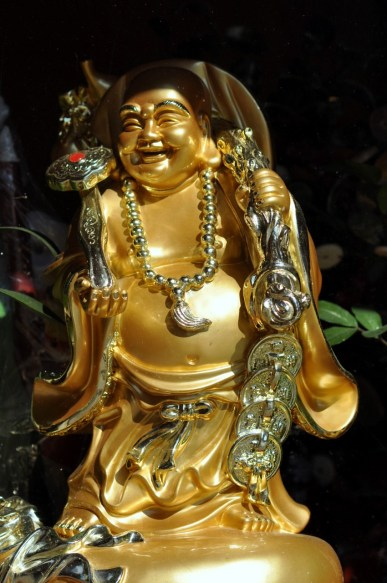 Bouddha dans Chinatown à New York