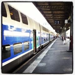 Voir sa pote de passage à Paris juste avant qu'elle ne reprenne le train.
