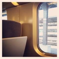 Encore un trajet en train pour le week-end.