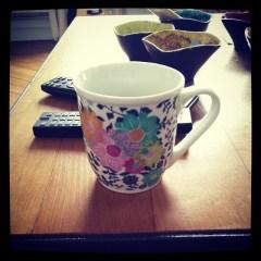 L'heure du thé.