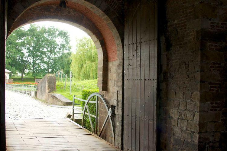 La porte royale de la citadelle de Lille