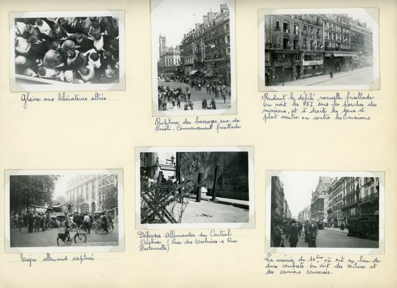 La libération de Paris photographiée par ma grand-mère