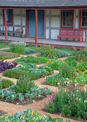 German Gardens at Old World Wisconsin