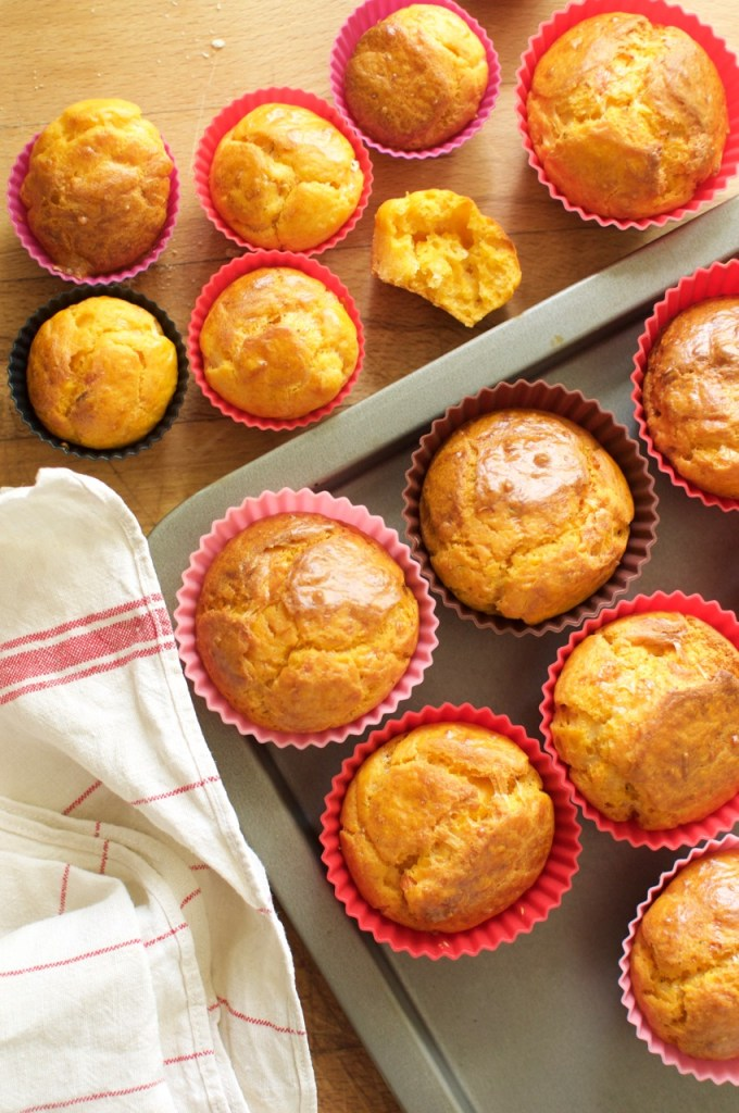 Muffins à la sauce tomates à déguster