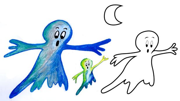 Dessiner archives les carnets de c leste - Dessiner un fantome ...