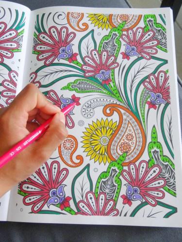 coloriage anti stress pas cher