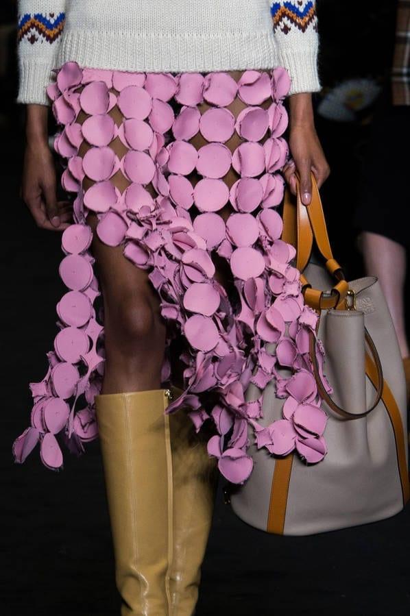 La jupe rose Loewe