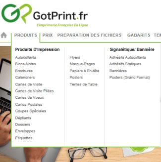 Le Site GotPrint Propose Dautres Produits Marque Pages Calendriers Tres Sympa 3