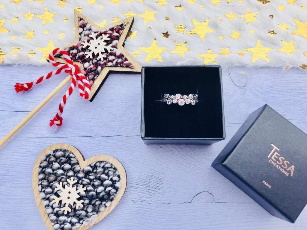 Bague Nausicaa Tessa Création les Carnets d'une Quadra