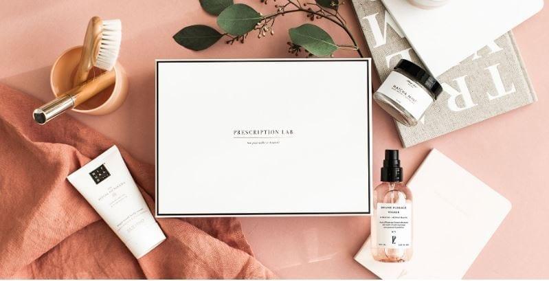 Box Beauté Prescription Lab Les Carnets d'une Quadra