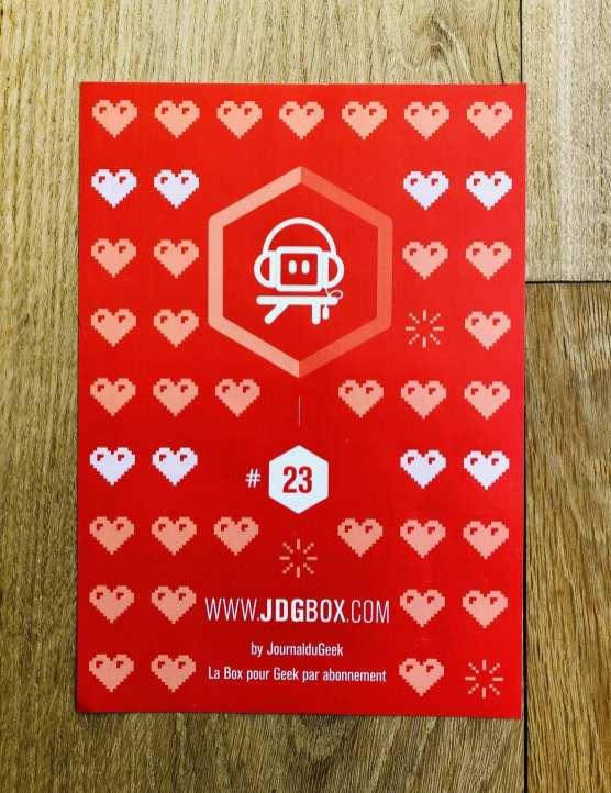 JDGBox Les Carnets d'une Quadra