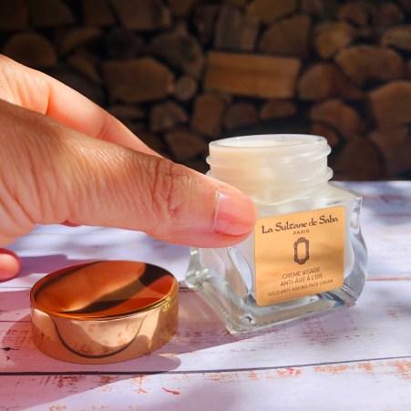 crème sublimant à l'or la Sultane de Saba