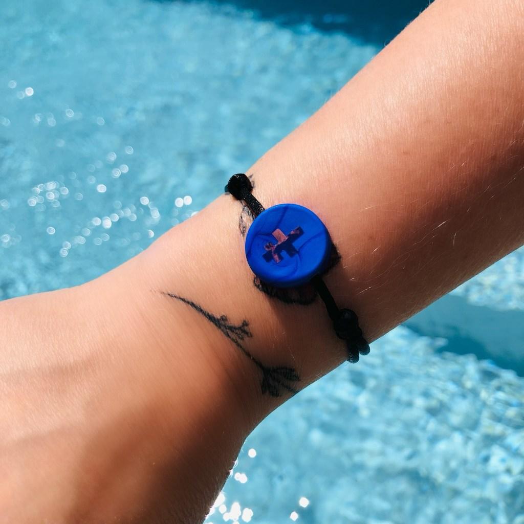 bracelet croix de Lorraine Michaël VESSIERE