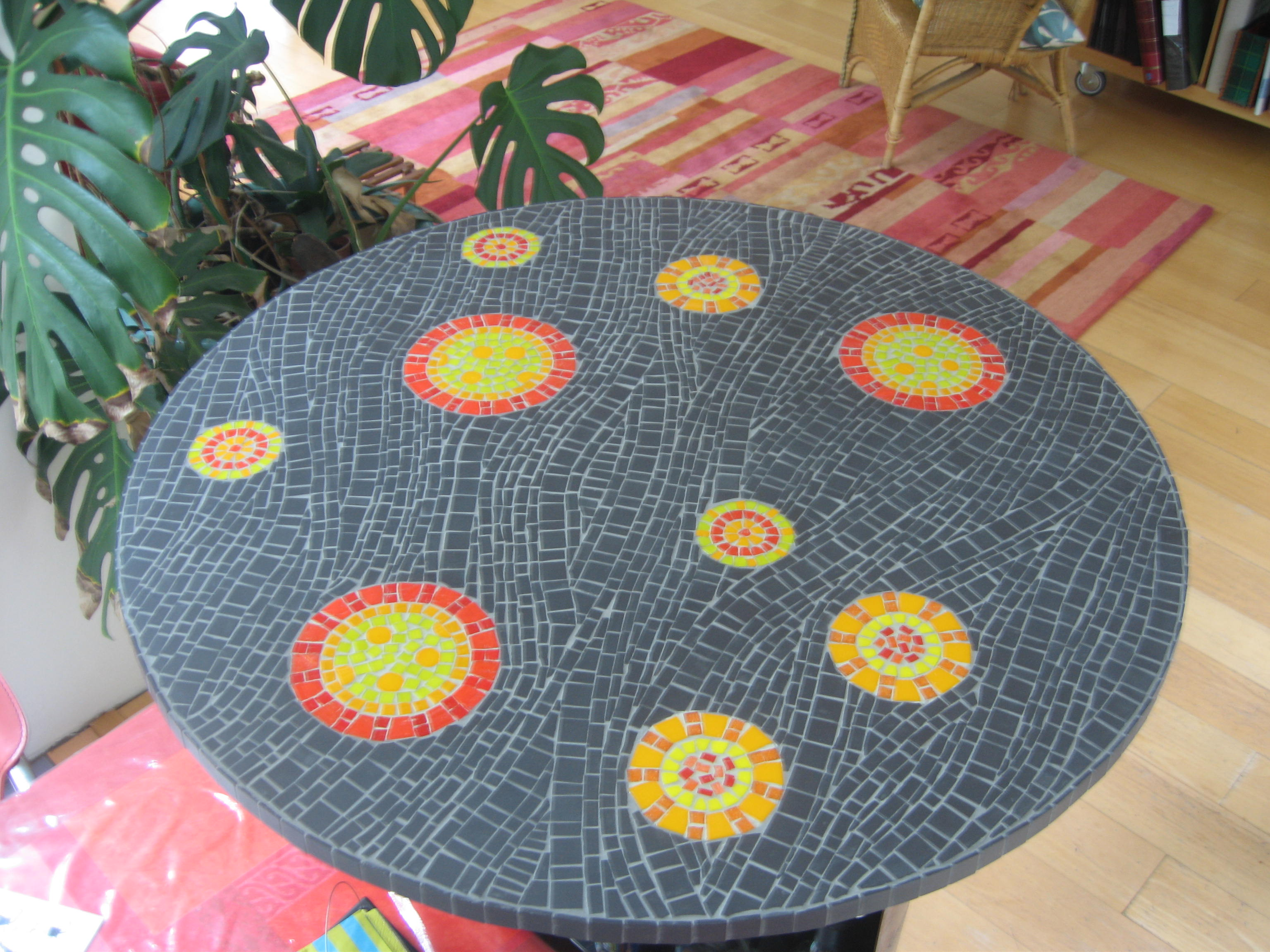 commande table diamètre 85 CM