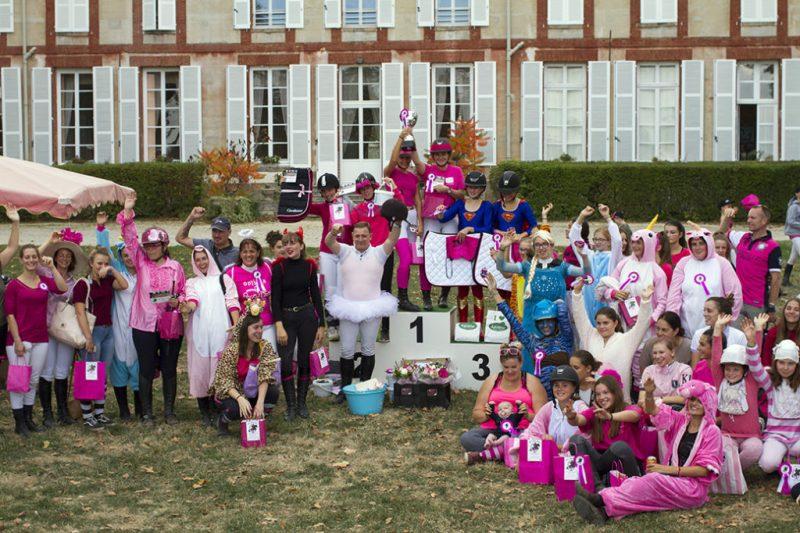 Epreuve Rose du 14 octobre 2018 - Les Cavalières contre le cancer au centre équestre de La Courbette.