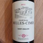 Château Belles-Cimes – Saint-Emilion 2017