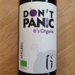 Don't Panic It's Organic – Malbec 2019