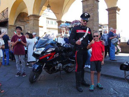 Trop la classe le Carabinieri !