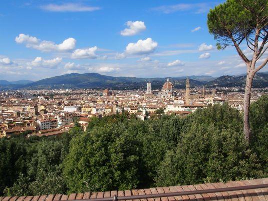 Firenze : vue sur le Duomo