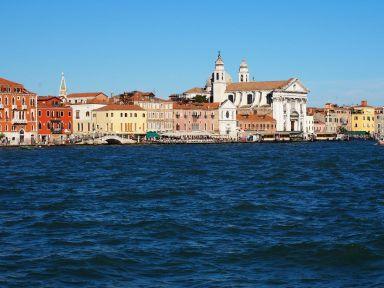 Arrivée sur Venise