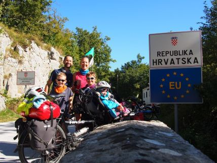 Arrivée en Croatie
