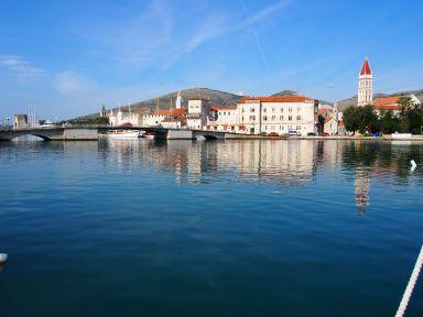 Magnifique ville de Trogir (Croatie)