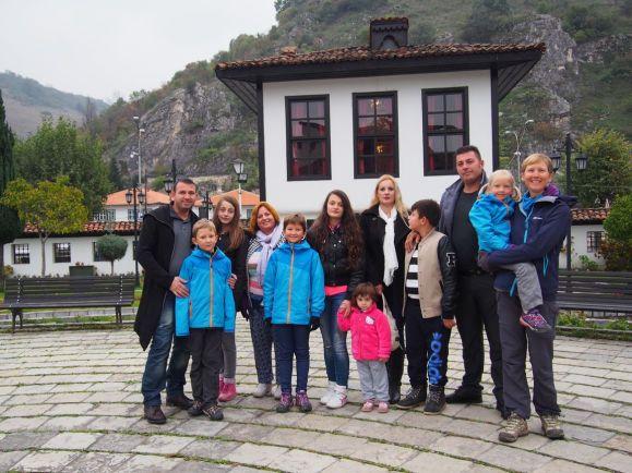 Super visite de Prizren (Kosovo) avec la famille Hoti