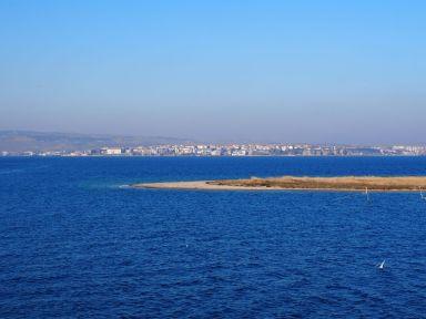Traversée du détroit des Dardanelles