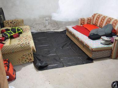 Notre logement : la chambre à coucher