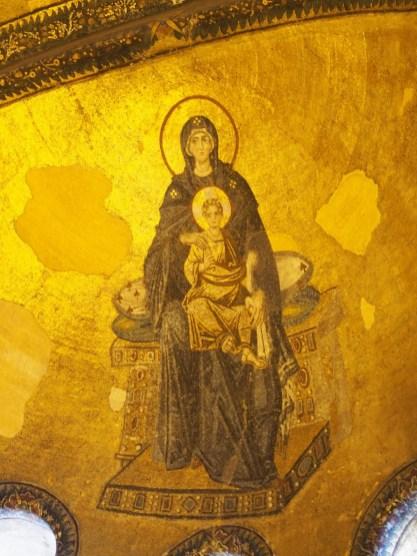 La vierge à l'enfant (Sainte-Sophie)
