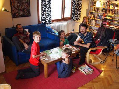 Partie de Monopoly