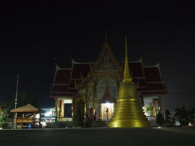 Ce soir, dodo au Wat de Ban Ka Long