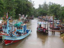 Grosse activité de pêche sur Koh Phangan