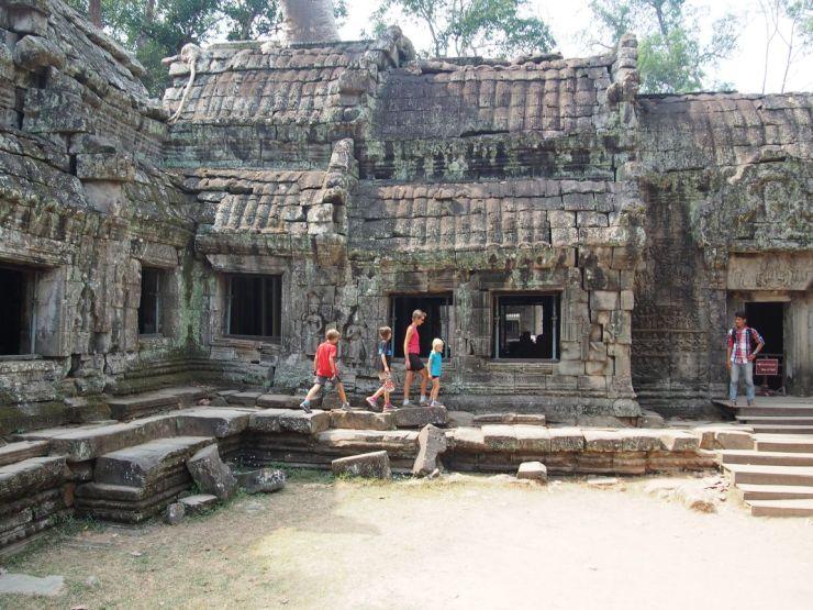 Visite d'Angkor Thom