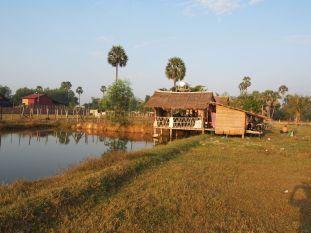 Notre maison pour quelques jours chez Seyha à Siem Reap