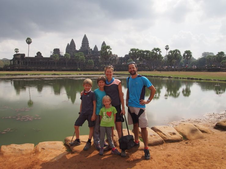 La classique d'Angkor Wat