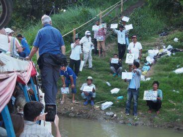 arrivée à Battambang : la chasse aux touristes !