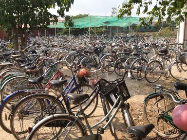 On aime le vélo à Pour un Sourire d'Enfant !