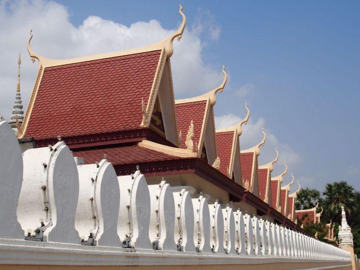 La pagode d'argent à Phnom Penh