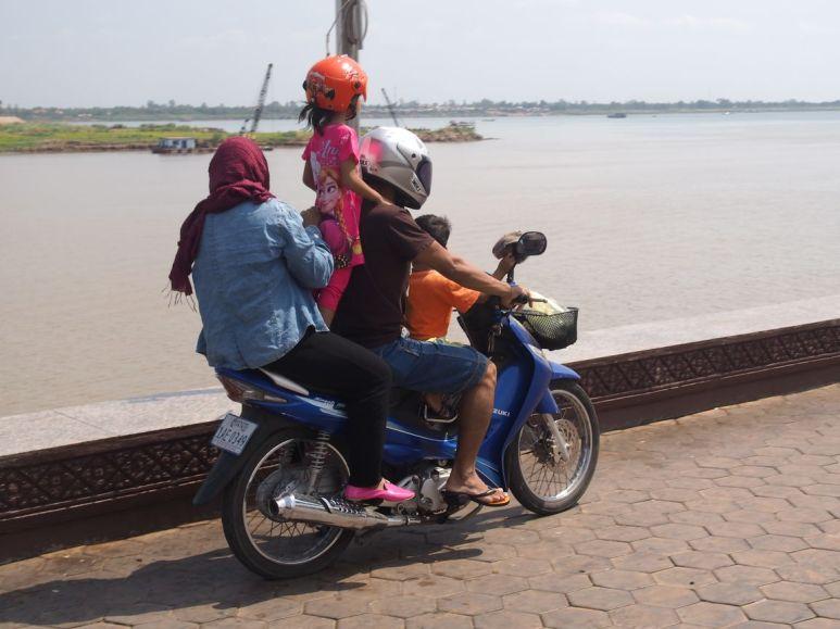"""La """"familiale"""" du Cambodge"""