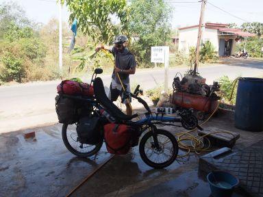 Et encore un nettoyage des vélos