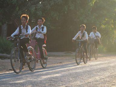 En route pour l'école
