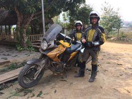 Rencontre d'un couple allemand de retour de Nouvelle-Zélande à moto