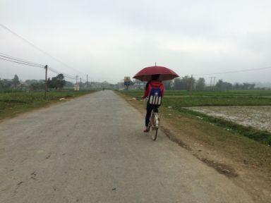 ... où nous ne sommes pas les seuls à vélo