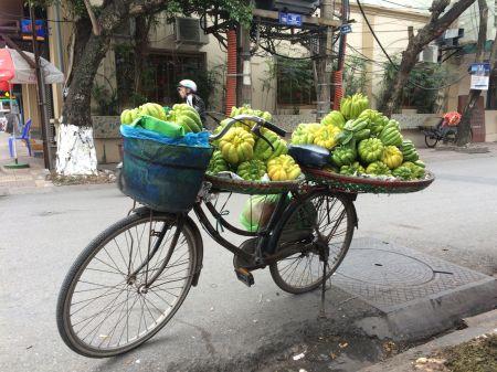 un vélo bien chargé