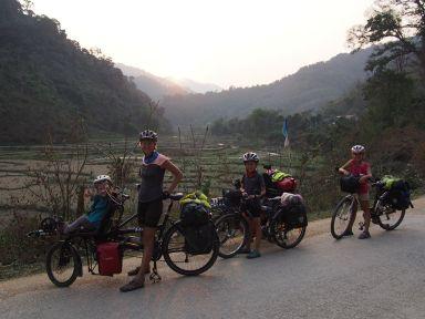 Nous profitons de nos derniers jours au Laos