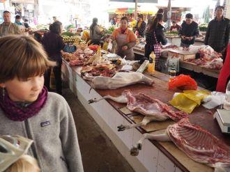 Marché local : la viande