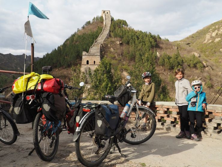 Grande Muraille, les Cham à Vélo sont là !